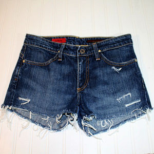 Adriano Goldschmied 28R Shorty Distressed Shorts